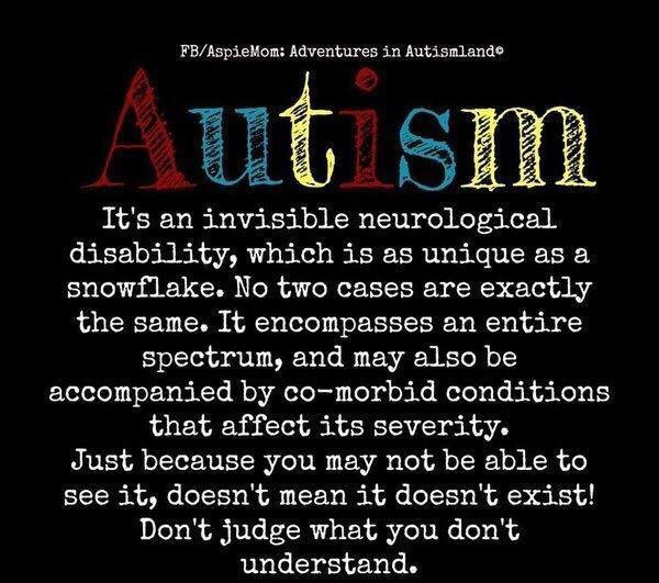 Nice Things about Autism
