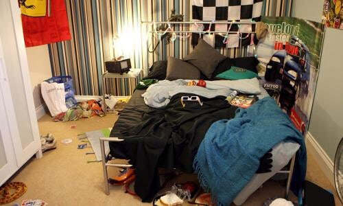Teenagers and Their Bedrooms