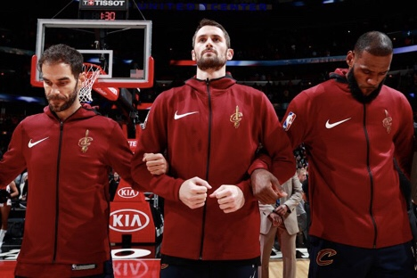 Kevin Love Discusses Anxiety