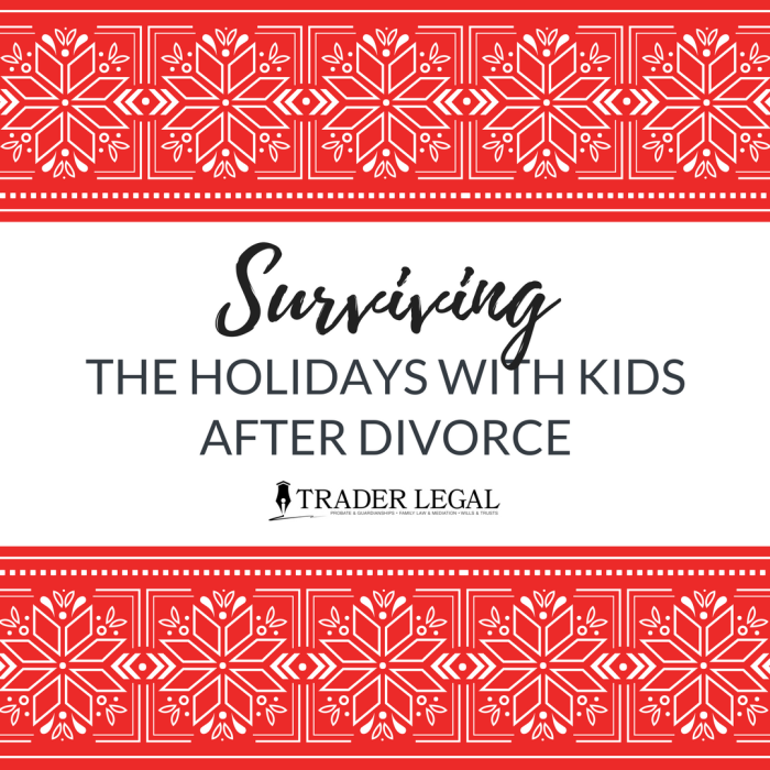 How To Cope with the Holidays after A Divorce
