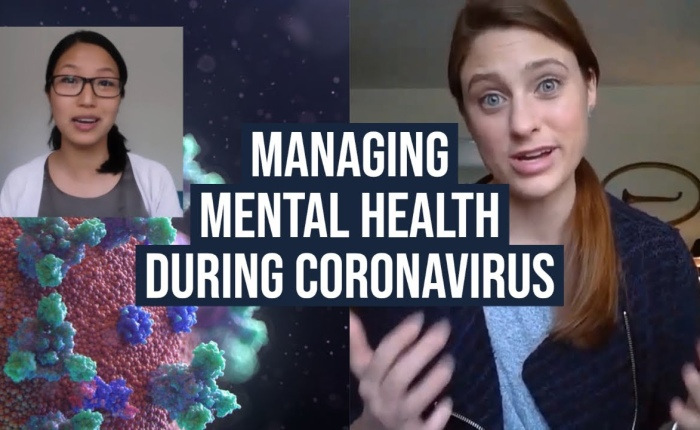 Coping with Mental Health Issues Created by the Coronavirus