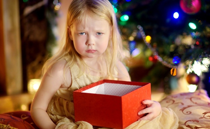 What to do When Children don't like A Holiday Gift